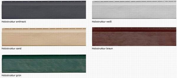 zierer paneele fassadenplatten kunststoff. Black Bedroom Furniture Sets. Home Design Ideas