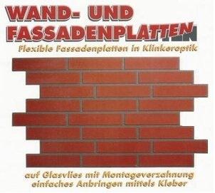 Produktbild Von Ruber Klinker EasyStone Fassadenplattten Kunststoff